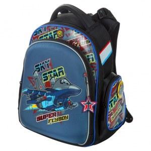 3c121c005cf2 Школьный ортопедический рюкзак Hummingbird для мальчиков TK48 с мешком для  обуви синий