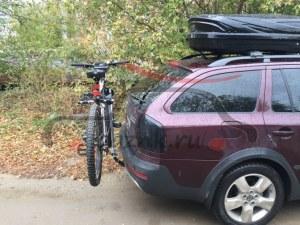 Thule 970 Xpress велокрепление на фаркоп для перевозки 2-х велосипедов