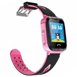 Smart Baby Watch Q80 - умные детские часы с GPS, голубые