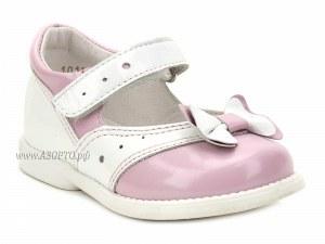 1c3452917a64de 1385-03 ШагоВита (Shagovita), туфли детские ортопедические  профилактические, кожа, розовый