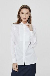 11667092550 Рубашка Mezzatorre белого цвета
