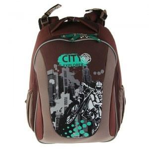 c21f5bd3df5b Рюкзак каркасный школьный эргономичная спинка Erich Krause 40х32х18 см  Multi Pack City Explorer