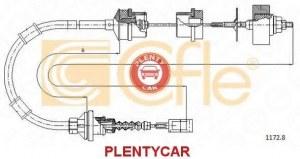 Трос управление сцеплением Cofle 1172.8 Fiat / Lancia / Alfa: 1335053080 2150AP 2150Z7 9211728 Citroën Jumper C