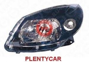 Фара левая черная под корректор Depo 5511170LLDEM2 Renault: 8200526423