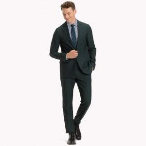 db518d680275 Классический костюм-двойка - Зеленый - Tommy Hilfiger - EU52 - Мужчины