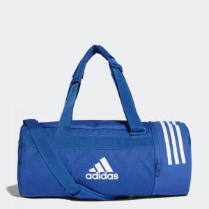fa14f99c4619 Спортивная сумка Convertible 3-Stripes adidas Performance Collegiate Royal  / White / White