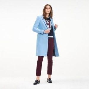 5873ff49fc4 Узкое шерстяное пальто - Синий - Tommy Hilfiger - EU40 - Women