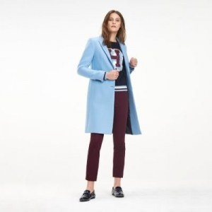 5d53ed7723b Узкое шерстяное пальто - Синий - Tommy Hilfiger - EU42 - Women