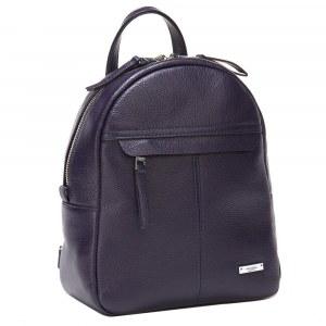 27abf5e433a4 Кожаный женский рюкзак Alessandro Birutti 4056 Plum Натуральная кожа