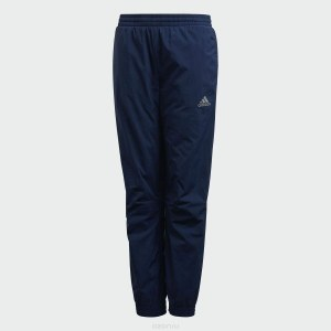 4c77633e Брюки спортивные для мальчика Adidas Yb Id Warm Wv P, цвет: синий. DJ1686