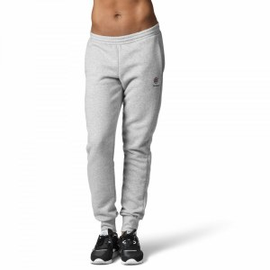 bb50c63f Спортивные брюки Reebok Classics Franchise Fleece Medium Grey Heather /  Black