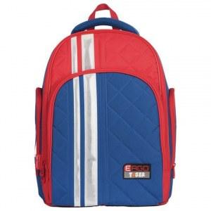 f1e98ce422dc Ранец с ортопедической спинкой, цвет синий, красный, 39x31x22 см