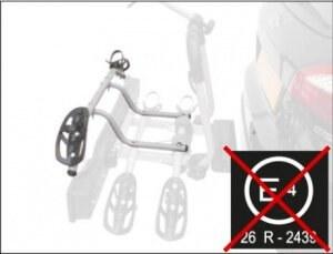 Крепление детского велосипеда дополнительное для велокреплений PERUZZO Siena сталь