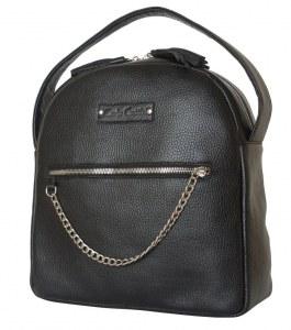 ad4cf4568274 Кожаный рюкзак Altidona black (арт. 3046-01)
