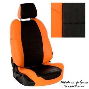 Модельные чехлы для нива 21213/21214(Оранжевый   Чёрный)