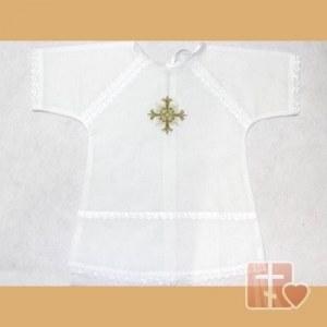 5e7a75fde4caea8 Крестильная рубашка Византийский крест (золото, шитье)