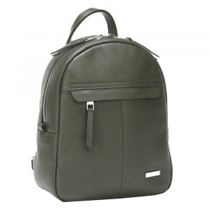 d839c0d2e56c Кожаный женский рюкзак Alessandro Birutti 4056 Khaki Натуральная кожа