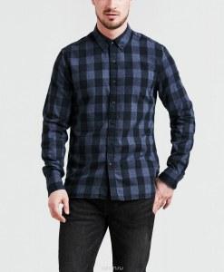 5ffed6f869f9c71 Рубашка мужская Levi's®, цвет: темно-синий. 3288800370. Размер XL (