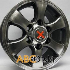 Колесные диски Replica R606 mg R16 Toyota 6*139,7 et30 R16*7 d106,1 Hilux