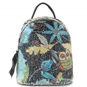 6d6fd39fd038 Рюкзак с пайетками «Киото» 1069 Black
