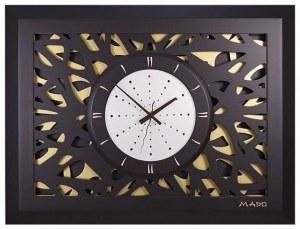 2025db34 Дизайнерские настенные часы MADO MD-603 «Камелия»
