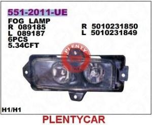 Фара противотуманная левая Depo 551-2020L-UE Renault: 5010231849