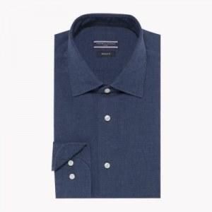 510aa5929b3 Классическая рубашка - Синий - Tommy Hilfiger - 44R - Мужчины