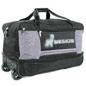 e16fa6b90cbc Дорожная сумка на колесах Бескин 112704 89 черный