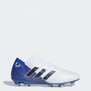 9d35a00f Футбольные бутсы Nemeziz Messi 18.1 FG adidas Performance Ftwr White / Core  Black / Football Blue