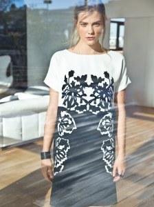 f49ea6ea2cc Электронная выкройка Burda - Платье с цельнокроеными рукавами №115