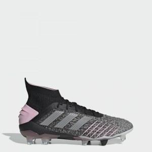 526ec77d Футбольные бутсы Predator 19.1 FG adidas Performance core black / silver  met. / mgh solid