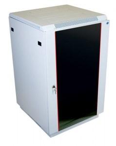 Шкаф телекоммуникационный напольный 22U (600х1000) дверь стекло