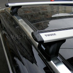 Багажник на крышу Thule WingBar, аэродинамические дуги, 969 753 4023, на БМВ X4 G02 2020-2020, арт:21214-14