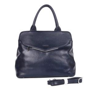 50d431b6cc7b Женская кожаная сумка Giguaro 35426 Q-7# blue GA