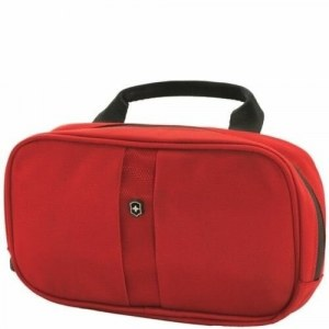 b181112202fd Несессер Victorinox Lifestyle Accessories 4.0 Overmight Essentials Kit,  цвет - красный, размер - 23x4x13