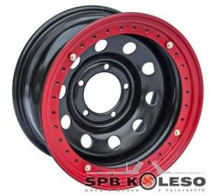 Колесный диск Off-Road-Wheels Toyota,Nissan BeadLock 8 R16 6x139,7 ET-19.0 D110.0 Black