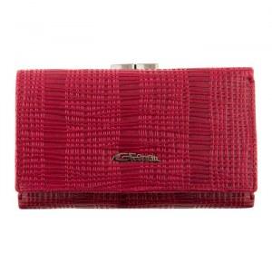 dff169d80f02 Женский кожаный кошелек Giorgio Ferretti 018C-A507-B d.red GF среднего  размера