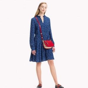 83ce05139f76b32 Платье с цветочным принтом - Синий - Tommy Hilfiger - EU38 - Мужчины
