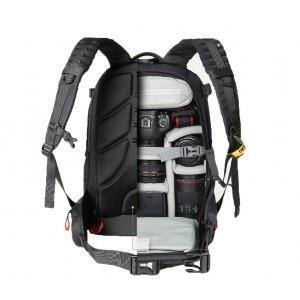 d32ccfdaf201 Противоударный водонепроницаемый рюкзак-сумка вместительный для  фотоаппарата в черном цвете с отделением для дополнительных аксессуаров