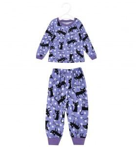 62168f32556b Пижама джемпер/брюки Панда Дети цвет: фиолетовый, для девочек, размер 98