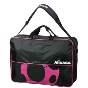 7290aa2971af Сумка на 6 футбольных мячей MIKASA FS6C-BKP черно-розовый