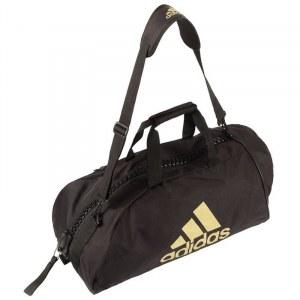 92a00eb31aaa Сумка-рюкзак Adidas Training 2 in 1 Bag Combat Sport adiACC052 черно-золотая  (
