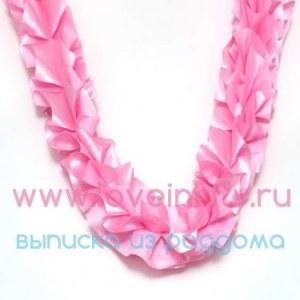 114cf977ba057 Ярко-розовая лента-рюш на машину в честь рождения девочки