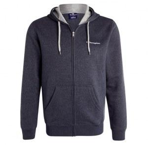 a9e6d228 Толстовка Champion Hooded Full Zip Sweatshirt 210738, темно-серый, 2XL,  хлопок -