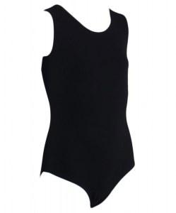 934ef597524bb Купальник гимнастический без рукавов, хлопок, черный, р. 36-42 размер 42