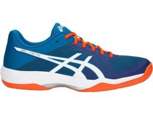 53df8224 Кроссовки волейбольные Asics Gel-Tactic SS17, 46.5, синий, Для разного  уровня