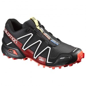 c11abb68 Кроссовки мужские Salomon Spikecross 3 cs Black/Radiant Red/White