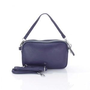 242557bec94d Женская кожаная сумка синего цвета Giorgio Ferretti 201850087A Q28 blue GF