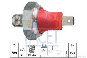 Датчик давления масла fiat: sedici 1.6 16v 4x4 06- kia: avella 1.3/1.5 95-01, avella наклонная задняя часть 1.3/1.5 95-01, besta фургон (tb) 2.7 d 97-, carens ii (fj Facet арт. 7.0035
