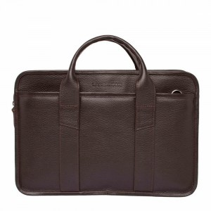 95f17ac24b3c Мужская кожаная деловая сумка Lakestone Marion Brown